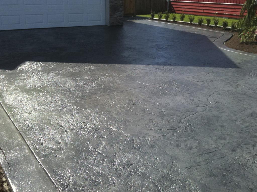 Pavimento impreso y t cnicas relacionadas - Hormigon decorativo para suelos ...